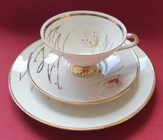 Winterling Bavaria porcelán reggeliző szett 3 részes (csésze, csészealj, kistányér)