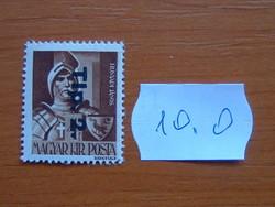MAGYAR KIR. POSTA 1946 Overprints 10.O