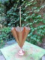 Vörösréz esernyőtartó
