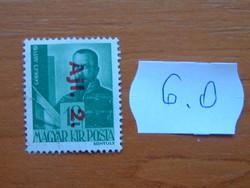 MAGYAR KIR. POSTA 1946 Overprints 6.O