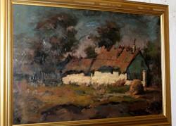 Harczi István garantáltan eredeti festménye 332