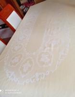 Irisette, minőségi damaszt asztalterítő, ovális, 216 x 146 cm