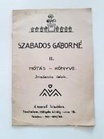 Régi kottafüzet 1941 Irredenta dalok kotta Szabados Gáborné II. Nótás könyve
