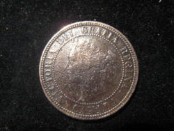 Canada 1 cent, 1882 VF bronz