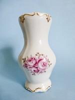 Antik,Weimar aranyozott,rózsa mintás barokk váza