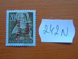 MAGYAR KIR. POSTA 1946 Overprints 242N