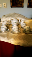 Zsolnay teás  6 szeméjes  teás készlet