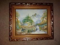 Festmény, olaj, vászon, méret jelezve!