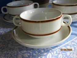 3   db  Bavaria leves csésze alátét tányérral