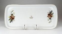 1E952 Retro porcelán kínáló tálca 17 x 36 cm
