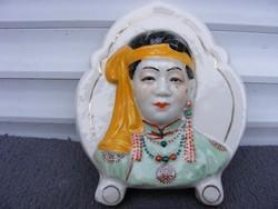 Keleti porcelán object Kína? Japán?Mongol? Koreai? LEÁRAZVA