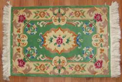 Antik szőnyeg-kínai kézi gyapjú szőnyeg