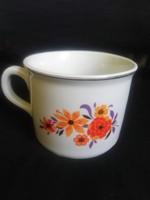 Zsolnay porcelán tejfölös bögre 0,5 L