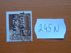 MAGYAR KIR. POSTA 1946 Overprints 245N