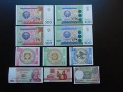 10 darab külföldi bankjegy LOT ! 02