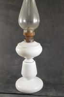 Antik szakított üveg petróleum lámpa 700