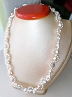 Édesvízi tenyésztett gyöngysor, nyaklánc