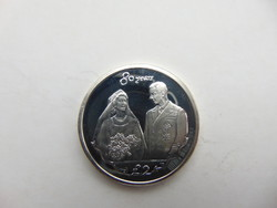 Anglia ezüst 2 pound - font 2006 PP 28.61 gramm 925 - ös ezüst