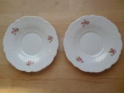 2 db Tirschenreuth Bavaria Baronesse porcelán alátét csészéhez - pótlásnak