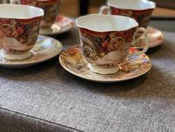 Limitált kiadású Queen Elisabet porcelán teás és kávés készlet