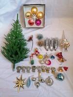 Retro Karácsonyfa díszek