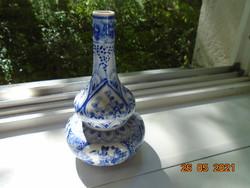 MING BLUE WHITE DOUBLE GOURD VASE Kézzel festett Ming dinasztiás váza