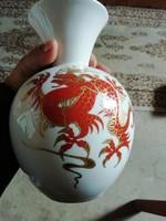 Wallendorf sárkány váza