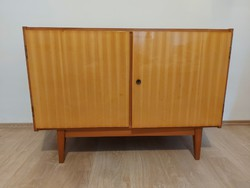 Mid-century komód retró polcos szekrény
