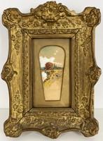 Teljes hagyaték aukción! K. Spányi Béla (1852-1914) akvarell,papír festmény Gyönyörű 1 Ft-ról!