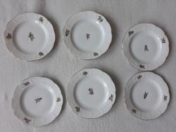 Herendi sütis tányérok