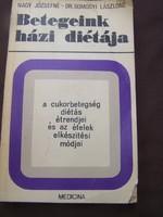 A cukorbetegség diétás étrendjei és az ételek elkészítési módjai  Medicina, 1973. Ritka és hasznos k