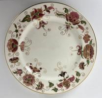 Teljes hagyaték aukción! Antik zsolnay dísztányér 1880 körüli TJM családi jeles Gyönyörű 1 Ft-ról!