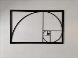 Aranymetszés, nagyméretű fali dekoráció, új, hibátlan, 100 cm x 63 cm