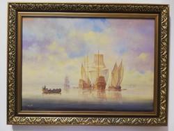 Balázs Jakó at sea 1995. Weekly action2