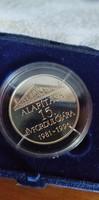 Inetereurópa Bank 15.èvfordulós ezüst èrem