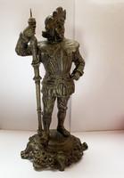 Konkvisztádor, régi spiáter szobor.
