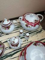 Hoffburg Vienna 41 db-os teljes porcelán étkészlet