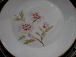 Virágos tál, tányér Schönwald 1.