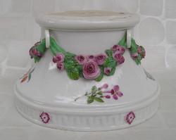 Meisseni porcelán talapzat Marcolini időszak 1774 - 1814 eredeti klasszicista copf