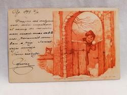 1899 képeslap Nagyvárad