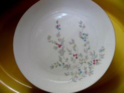 Virágos elegáns tányér Seltmann Weiden