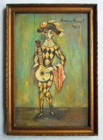 Anna Margit - Babu című festménye
