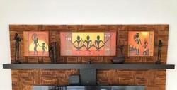 Afrikai dekoráció - szobrok és képek