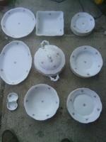 6 személyes zsolnay porcelán étkészlet