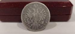 Ausztria ezüst 1 Florin