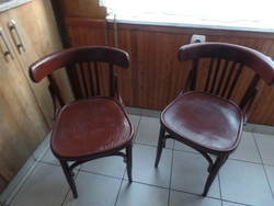 2 db Thonet szék patkó karfával