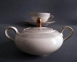 Eschenbach Bavaria bauhaus cukortartó + teáscsésze 1960s