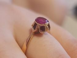 Antik 14K arany gyűrű 2,3 gramm