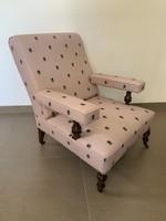 FIGYELEM! EGYEDI!! Méhecskés designer nagy kényelmes fotel