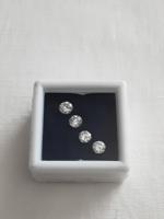 4 db természetes gyémánt egyben 0,92 Ct